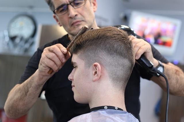 corte de cabello hombre